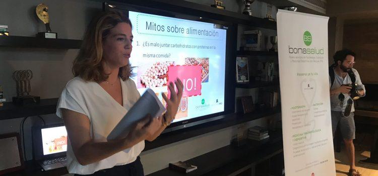 """""""Los mitos de la alimentación"""": Charla sobre nutrición impartida por Recover PRO"""