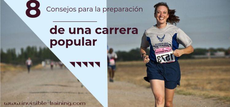 8 consejos para la preparación de una carrera popular