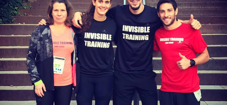 CAMPEONES INVISIBLE TRAINING EN LA CARRERA DIR SANT CUGAT 2018