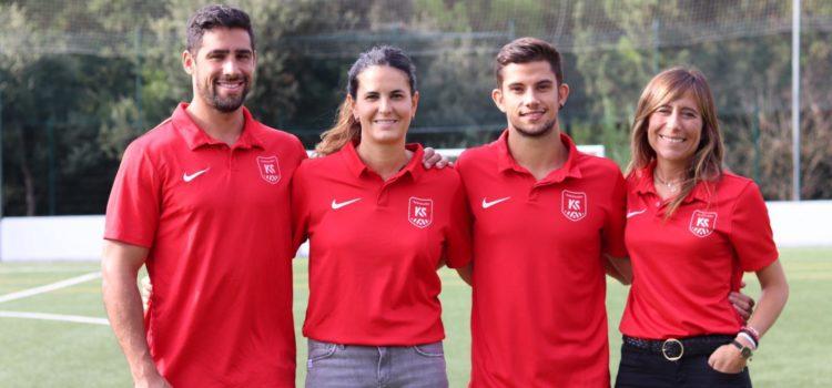 Colaboración de la fisioterapia deportiva con los jóvenes futbolistas de Kaptiva Sports Academy.