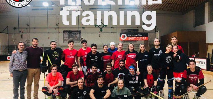Invisible Training i Pati Hoquei Club Sant Cugat, junts amb l'esport