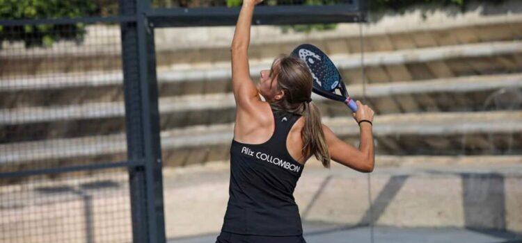 Representando al pádel francés, Alix Collombon