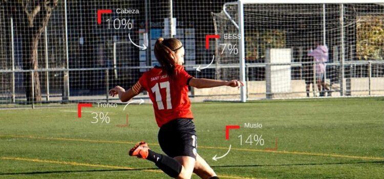 La fisioterapia y las lesiones en el fútbol femenino
